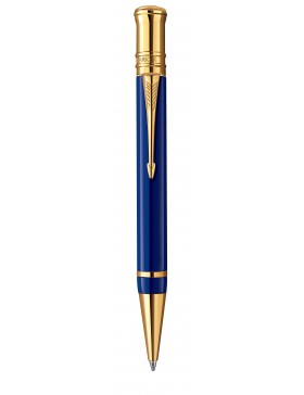 Шариковая ручка Parker Duofold Historical Colors International K74 Lapis Lasuli GT