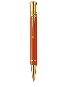 Шариковая ручка Parker Duofold Historical Colors International K74, цвет: глубокий красный (Big Red GT)