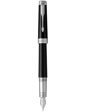 Перьевая ручка Parker Premier Black Lacquer CT F
