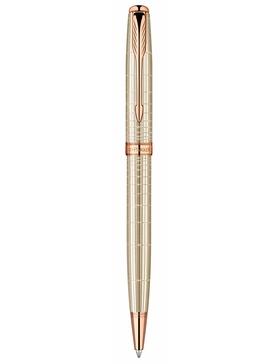 Шариковая ручка Parker Sonnet K535 VERY PREMIUM Feminine (серебро 925 пробы, 12.84), цвет: Silver PGT, стержень: Mblack