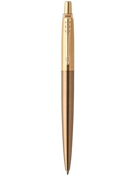 Шариковая ручка Parker Jotter 2017 Premium West End Gold Brushed GT