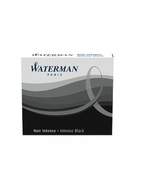 ЧЕРНЫЕ МИНИ КАРТРИДЖИ WATERMAN (ВАТЕРМАН) INTERNATIONAL BLACK 6ШТ