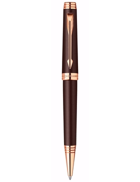 Шариковая ручка Parker Premier 2013, K560, Soft Brown PGT