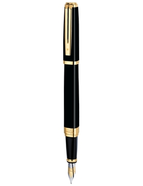 Перьевая ручка Waterman Exception Ideal Black GT M