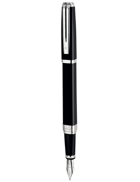 Перьевая ручка Waterman Exception Night Black Day Black ST M